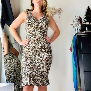AX Paris Sexy Leopard Print Dress